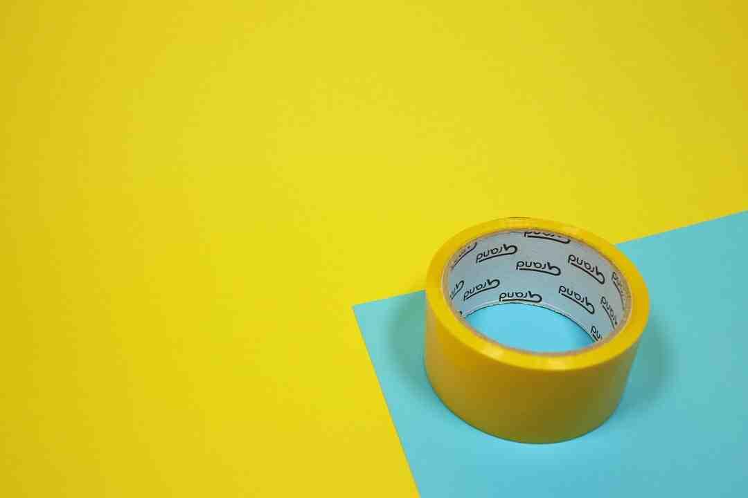 Como remover rótulo de balde de tinta?